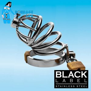 Chastity Cage with Steel Urethral Plug