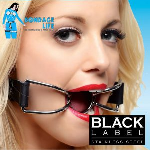 Spider Silence Mouth Gag With PVC Coating