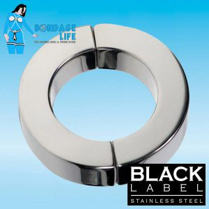 Magnetic Hinged Cock Ring Polished