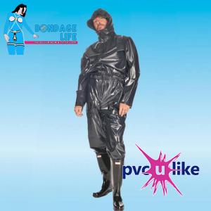 Male Hooded Jumpsuit