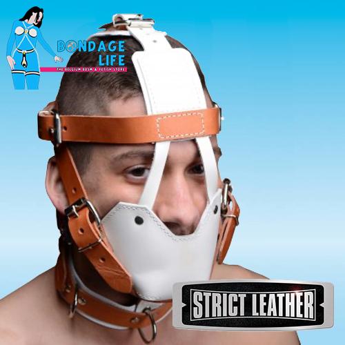 Hospital Style Leather Muzzle