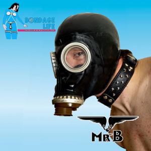 Zwart Russisch Gasmasker