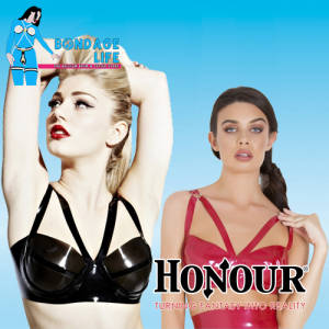Starbust Latex Bra